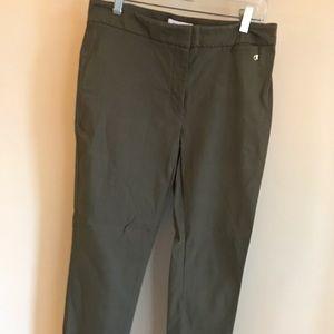 Calvin Klein green work pants